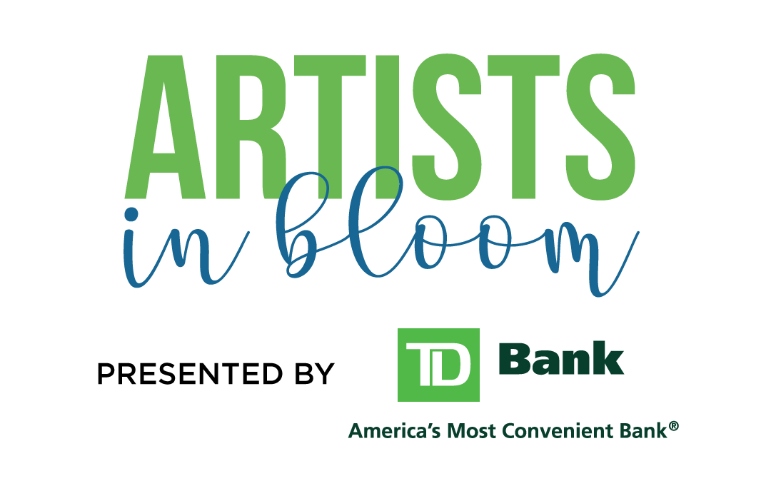 """Artist in Bloom"" presented by TD Bank"