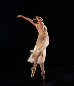 Image of solo female dancer